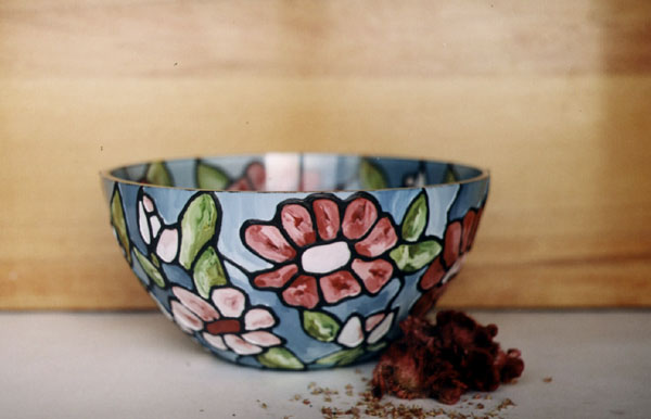 Bowl pastelat (001) diametrul 30 cm - 15 USD