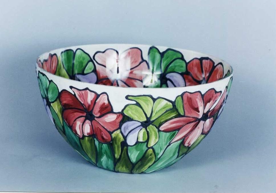 Bowl pastelat (003) diametrul 30 cm - 15 USD