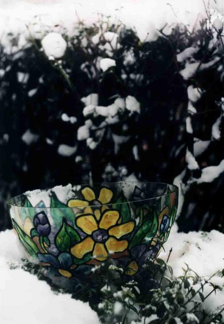 Bowl pastelat (002) diametrul 30 cm - 15 USD